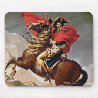 Napoleon Crossing the Alps, c.1800 (oil on canvas) Mouse Pad