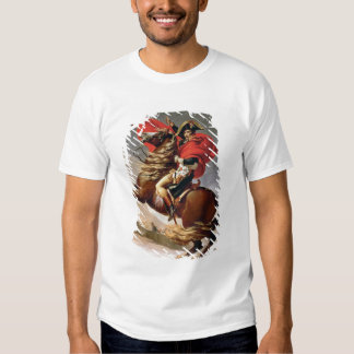 Napoleon Crossing the Alps, c.1800 (oil on canvas) T-Shirt
