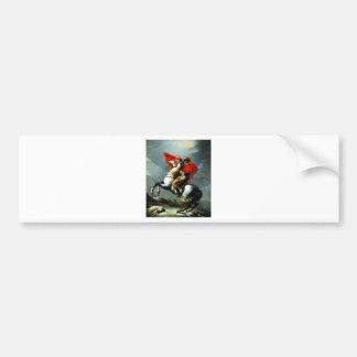 Napoleon Crossing the Alps Car Bumper Sticker