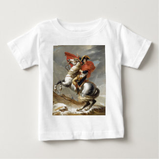 Napoleon Crossing the Alps - Jacques-Louis David Baby T-Shirt