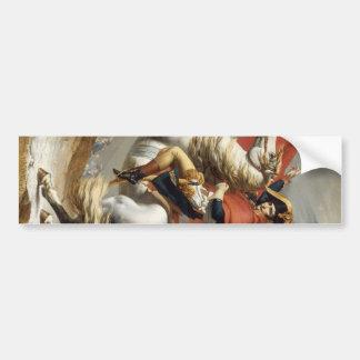 Napoleon Crossing the Alps - Jacques-Louis David Bumper Sticker