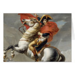 Napoleon Crossing the Alps - Jacques-Louis David Greeting Card