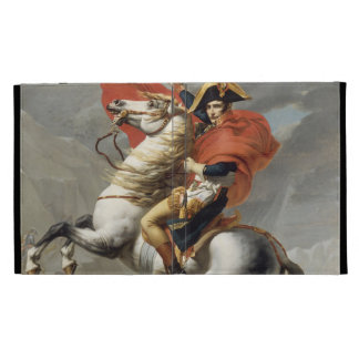 Napoleon Crossing the Alps - Jacques-Louis David iPad Case