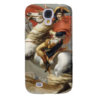 Napoleon Crossing the Alps - Jacques-Louis David Galaxy S4 Case
