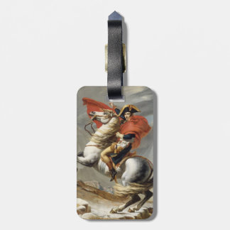 Napoleon Crossing the Alps - Jacques-Louis David Bag Tags
