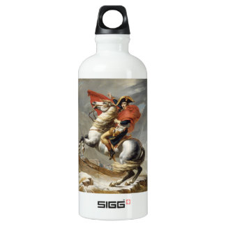 Napoleon Crossing the Alps - Jacques-Louis David SIGG Traveler 0.6L Water Bottle