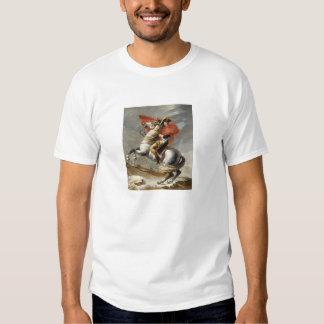 Napoleon Crossing the Alps -- Jacques-Louis David T-Shirt