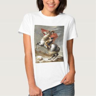 Napoleon Crossing the Alps - Jacques-Louis David T-Shirt