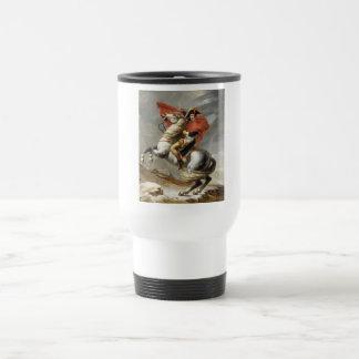 Napoleon Crossing the Alps - Jacques-Louis David Travel Mug
