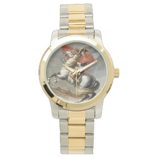 Napoleon Crossing the Alps - Jacques-Louis David Wristwatches