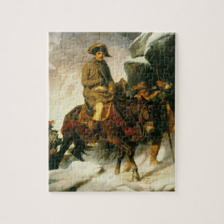napoleon crossing the alps jigsaw puzzle