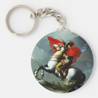 Napoleon Crossing the Alps Key Chains