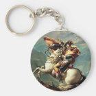 Napoleon Crossing the Alps Keychain