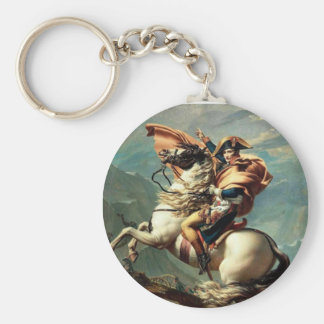 Napoleon Crossing the Alps Keychain