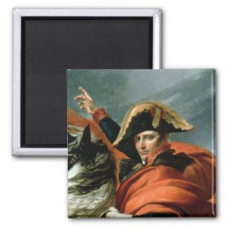 Napoleon  Crossing the Alps Magnet