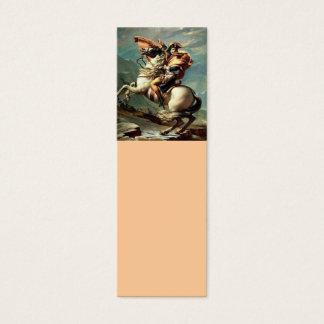 Napoleon Crossing the Alps Mini Business Card