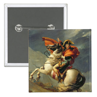 Napoleon Crossing the Alps on 20th May 1800 2 Inch Square Button