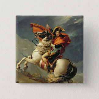 Napoleon Crossing the Alps on 20th May 1800 Button