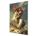 Napoleon Crossing the Alps on 20th May 1800 Canvas Prints