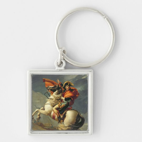 Napoleon Crossing the Alps on 20th May 1800 Keychain