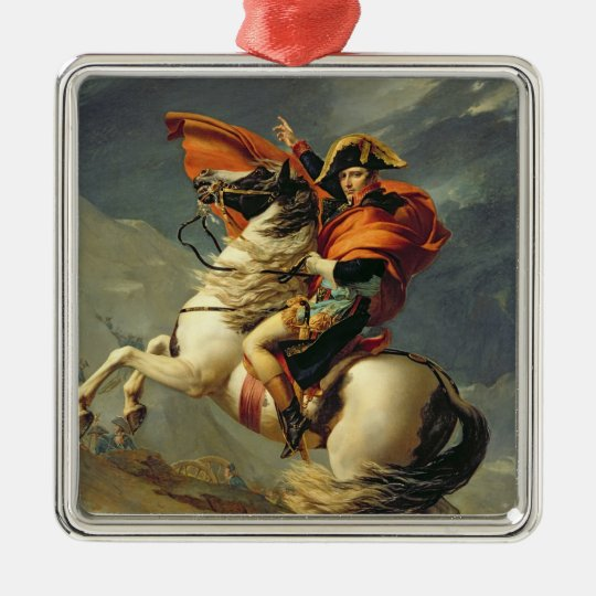 Napoleon Crossing the Alps on 20th May 1800 Metal Ornament
