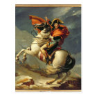 Napoleon Crossing the Alps on 20th May 1800 Postcard