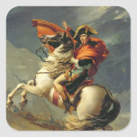 Napoleon Crossing the Alps on 20th May 1800 Square Sticker