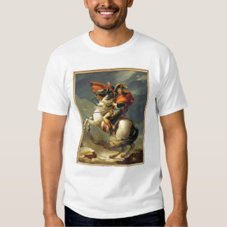 Napoleon Crossing the Alps on 20th May 1800 T-Shirt