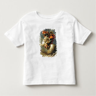 Napoleon Crossing the Alps on 20th May 1800 Toddler T-shirt
