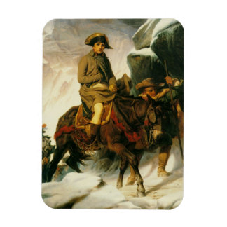 napoleon crossing the alps rectangle magnets