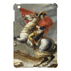 Napoleon Crossing the Grand Saint-Bernard Pass Cover For The iPad Mini