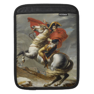 Napoleon Crossing the Grand Saint-Bernard Pass iPad Sleeve