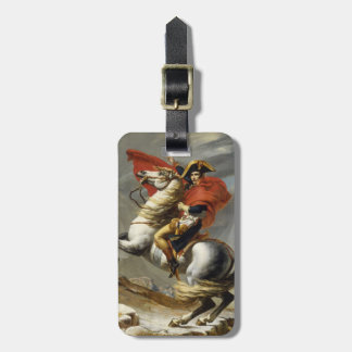 Napoleon Crossing the Grand Saint-Bernard Pass Tags For Luggage