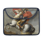 Napoleon Crossing the Grand Saint-Bernard Pass Sleeves For MacBook Pro