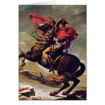 Napoleon Crossing the Saint Bernard Greeting Card