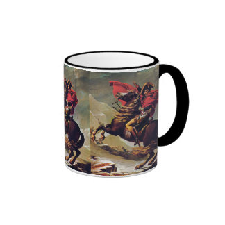Napoleon Crossing the Saint Bernard Coffee Mug