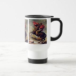 Napoleon Crossing the Saint Bernard Travel Mug