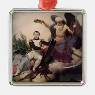 Napoleon  Crowned by Time, before 1833 Metal Ornament