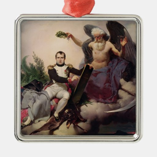 Napoleon  Crowned by Time, before 1833 Christmas Ornaments
