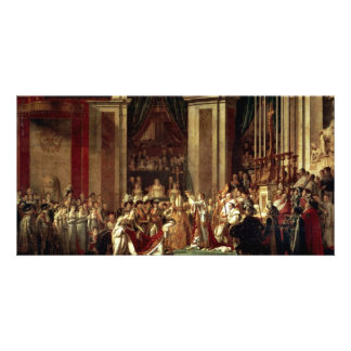 Napoleon Crowned Empress Josephine By David Jacque Photo Card Template