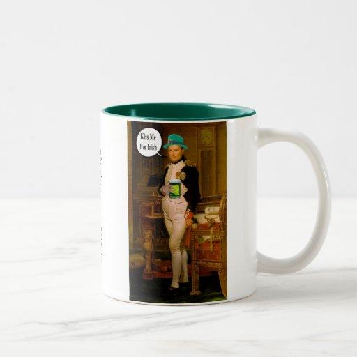 Napoleon de St Patrick Tazas De Café