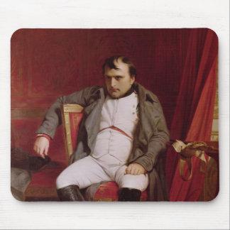 Napoleon después de su abdicación alfombrillas de ratones