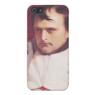 Napoleon después de su abdicación iPhone 5 carcasa