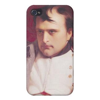 Napoleon después de su abdicación iPhone 4 fundas