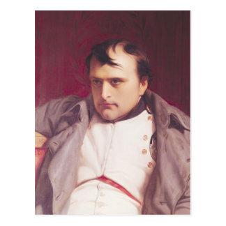 Napoleon después de su abdicación tarjetas postales