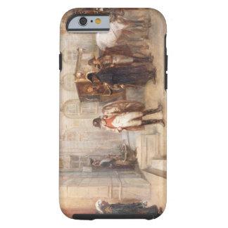 Napoleon después de Waterloo (aceite en lona) Funda De iPhone 6 Tough