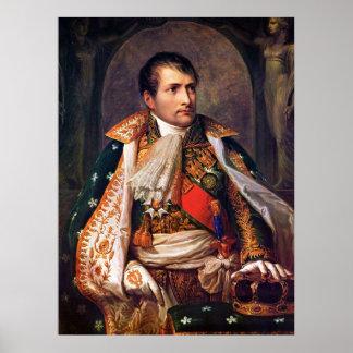 Napoleon el rey de Italia de Andrea Appiani Póster