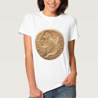 Napoleon Empereur gold coin T-shirt