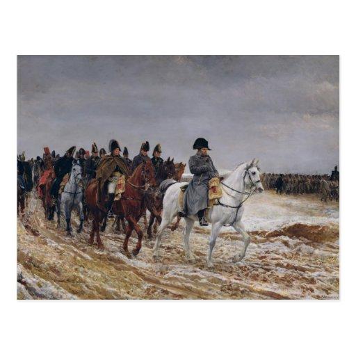 Napoleon en campaña en 1814, 1864 postales
