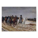 Napoleon en campaña en 1814, 1864 tarjeta de felicitación